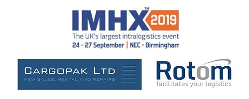 IHMX Cargopak Ltd Rotom Logos