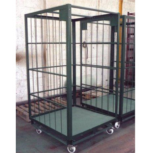 3 Sided Parcel Depot Picking Cage