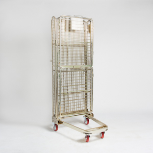 4 Sided Nesting A Frame Roll Cage Tall Folded