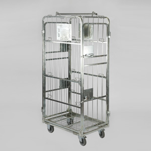 Bespoke Laundry Cage With Hanging Bar